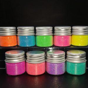 Neon Glitter Range